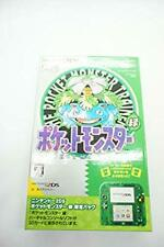 Nintendo 2DS Pokemon Pocket Monster Green Limited Pack Ver Game Console
