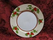 Fitz & Floyd Christmas Holly: Bread Plate (s) 6 1/2""
