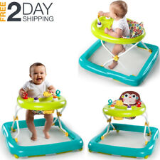 Infant Walker Music Adjustable Fold Up Activity Assistant Toy Play Bouncer Seat