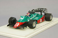Spark 1:43 Alfa Romeo 184T 1984 F1 Brazilian GP #23 Eddie Cheever from Japan