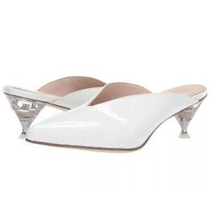 Kate Spade New York Womens Cori Mule White Size 6 Medium