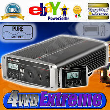 PROJECTA PURE SINE INVERTER 24V 2000W 24 VOLT 2000 WATT BATTERY POWER IP2000-24