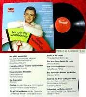 LP Peter Alexander: Mir geht´s wunderbar (1962) (Polydor)