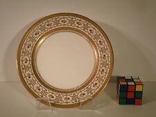 CAULDON Ltd England Gold encrusted 12 Dinner plates SALE!!