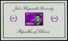 Liberia C161 imperf MNH John F. Kennedy