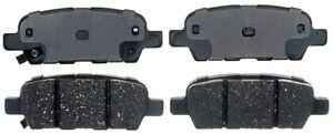 Disc Brake Pad Set-Ceramic Disc Brake Pad Rear ACDelco Advantage 14D905CHF1