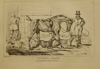 1825 Henry Alken Caccia Stampa ~ Coursing Going Fuori