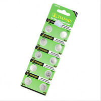 10pcs Whoesale AG10 LR1130 389 LR54 L1131 189 Coin Button Cell Battery 1.55V New