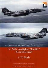 Dutch Decal 1/72 'Graffiti' Lockheed F-104G Starfighter KLu/RNethAF # 72073