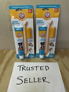 *2 Packs* Arm & Hammer Dental Gum Health Kits for Dogs Chicken Exp 06/23