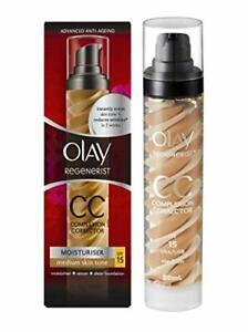 Olay Regenerist Complexion Corrector Day CC Cream Moisturiser SPF15 Pack of 2