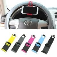 Supporto Porta per Cellulare Cell Phone Universale da Volante Auto Reggi Sterzo