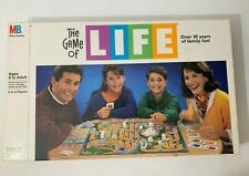 Vintage 1991 The Game Of Life Board Game Milton Bradley Complete