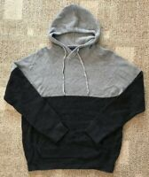 American Eagle AE Mens Pullover Hoodie Sweater Gray/Dark Gray Size Small