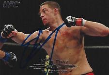 Nate Diaz Signed 2011 Topps Title Shot UFC Card #103 Autograph 94 118 129 141