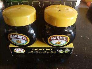 Marmite Salt & Pepper Cruet Set