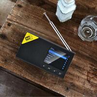 Digitale Tragbare DAB/FM Radio Bluetooth Lautsprecher, Akku Kompakte Radio für