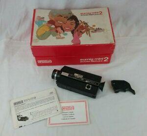 Eumig Mini Zoom Reflex 2 Super 8 Cine Camera - Boxed - Vintage - Spares/Repairs