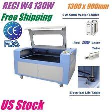 RECI W4 130W CO2 Laser Engraver Cutter 1300 x 900mm Wood Engraving Cutting USB