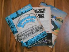 Old Vintage 1980 Official Program Milwaukee Brewers New York Yankees Baseball