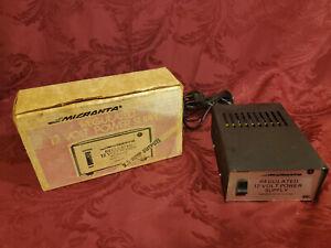 Radio Shack Micronta 12 Volt 2.5 Amps Regulated Power Supply 22-124A *GUARANTEED