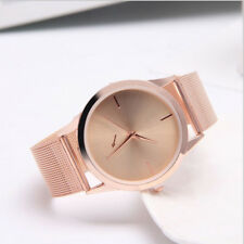 Women's Fashion Wrist Watch Charm Bracelet Stainless Steel Unisex Analog Quartz