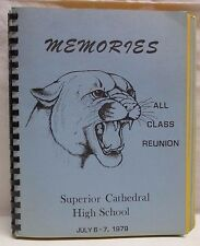 Vintage Memories All Class Reunion Superior Wisconsin Cathedral High School 1979