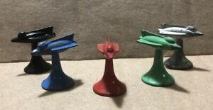 "Vintage Space Ship Rocket 1960's Parker Brothers ""Conflict"" War Board Game Pcs"