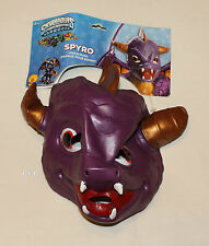 Skylanders Spyro Boys Halloween Costume Vinyl Mask One Size New