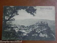 Vecchia foto epoca cartolina SICIGNANO DEGLI ALBURNI PANORAMA DA BELVEDERE 1931