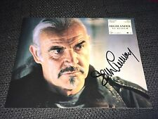 "Sean Connery SIGNED AUTOGRAFO SU 20x25 ""Highlander"" poster foto inperson look"