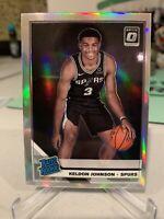 2019-20 Donruss Optic KELDON JOHNSON Holo Silver Prizm RC - San Antonio Spurs