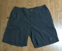 COLUMBIA omi wick Mens Shorts Gray size XL