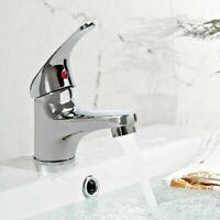 Cloakroom Tap Modern Bathroom Taps Small Basin Sink Mono Mixer Chrome Luxury Rio