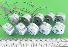 Electric-motor-miniature-solar-type-2-volt-ref-RC300-F - pack of 10