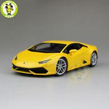 1/24 Lamborghini Huracan LP610-4 Welly 24056 Diecast Model Car Yellow