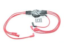 Red 8.5mm Spark Plug Wires Distributor Cap 1996-2007 Chevy GMC 4.3L Vortec V6