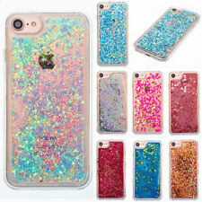Quicksand Bling Glitter Liquid Moving Stars Hearts TPU Soft Case Cover For Phone
