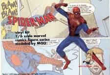Movie Spiderman Comic ver. 1/6 Figure Vinyl Model Kit 8inch