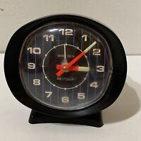 Vintage RARE BLACK Westclox Baby Ben Alarm Clock Working