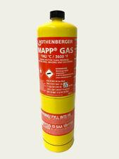 BOMBOLA MAP/PRO GAS ALTE PRESTAZIONI PER CANNELLO SALDATURE ROTHENBERGER *26618*