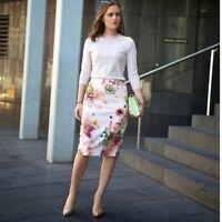 Ted Baker LondonOpulent Bloom Pencil Skirt size 4 (US 12)