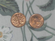 1993/1994/1995/2000 Singapore 1 cents Coin *Free Post