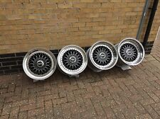 Genuine BBS RS 17 Zoll 8.5j 11j 5x114.3 5x100 Original felgen wheels split rims