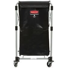 Rubbermaid 1881749 Laundry Cart - 150 Litre X-Frame Collapsible Folding Cart