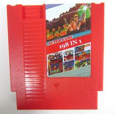 NEW Super Game 198-in-1 (8-Bit NES Nintendo) Red Video Game Cartridge