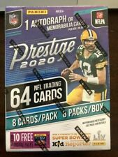 Panini NFL Prestige Football Trading Card Box - Pack of 64 Cards