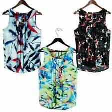 Chiffon Summer/Beach Tank, Cami Tops & Blouses for Women