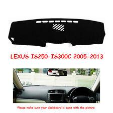 Dashboard Mat Carpet For LEXUS IS250-IS300C 2005-2013 Year Car Dashmat Sun Cover