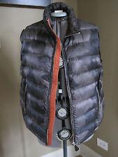 NEW $895 Burberry Brit Black/Green/Gray Down Vest Men's Size L